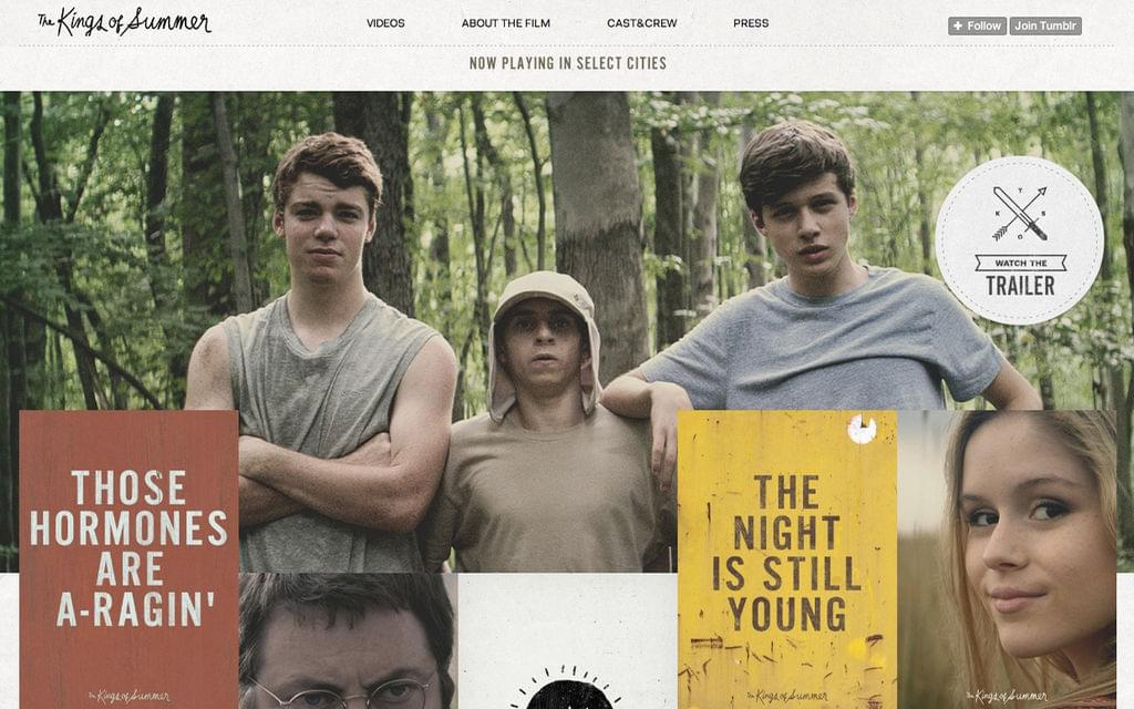 The Kings Of Summer Httpster